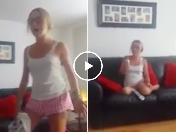 When answering a simple question goes from bad to worse (Video)