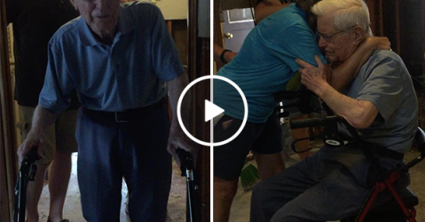 99 year old WWII veteran loses home, 'Lone Survivor' offers help (Video)