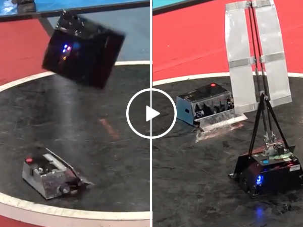This is what battle bots on crack looks like (Video)