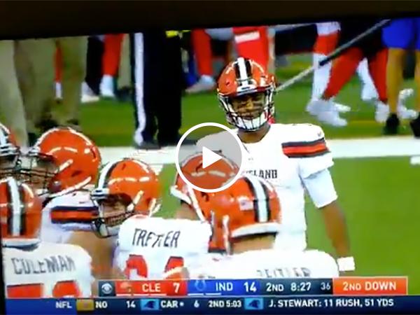 Drunk Cleveland Browns Fan Dances Provocatively