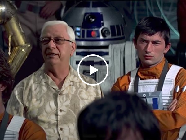 Dentist Combines His Service With Star Wars Scenes