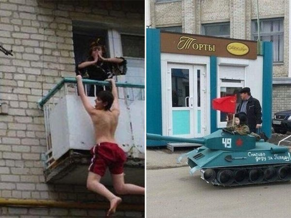 Russia is the number one exporter of crazy (22 Photos)