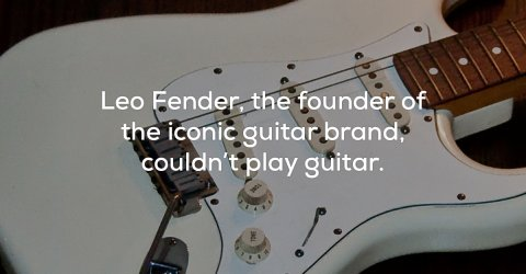 25 weird and wacky facts about the music industry (25 Photos)