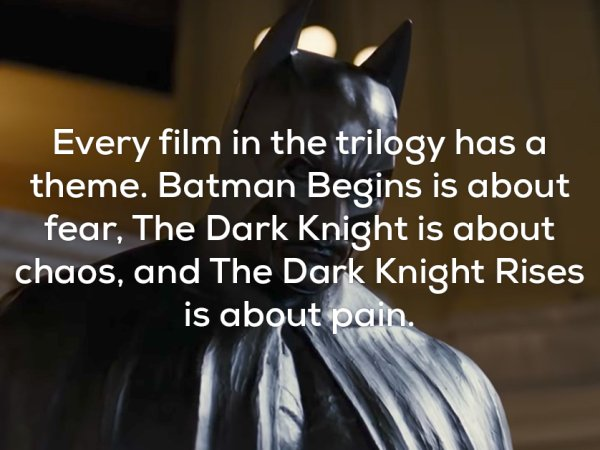 Awesome facts about The Dark Knight Trilogy (20 Photos)