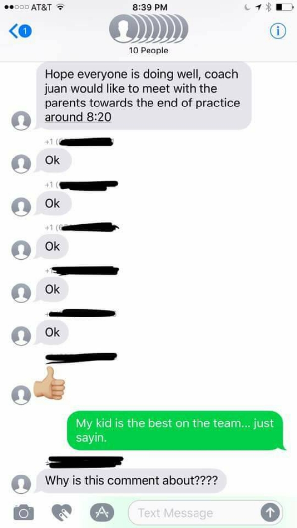 guy perfectly trolls soccer mom group chat he was accidentally added to 7 photos 2 Woman perfectly trolls soccer mom group chat she was accidentally added to (7 Photos)