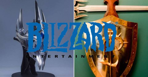The awesome rewards Blizzard employees get for years of service