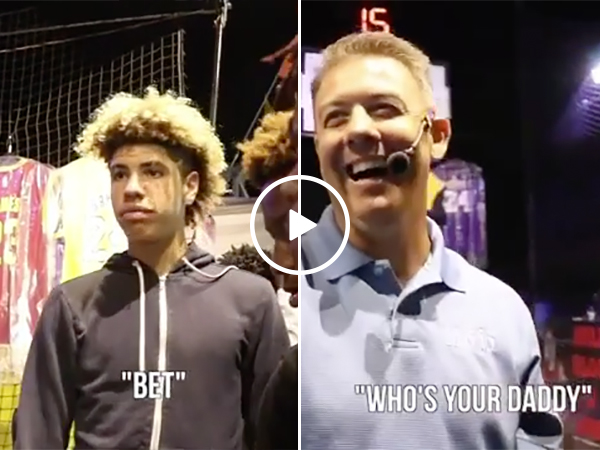 LaMelo Ball Schooled at Carnival | Lakers Brother Beat in Basketball