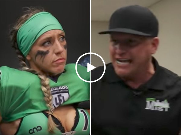 LFL coach gives scathing halftime speech