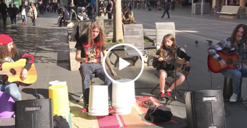 Kids create amazing cover of Metallica's 'Nothing Else Matters' (Video)