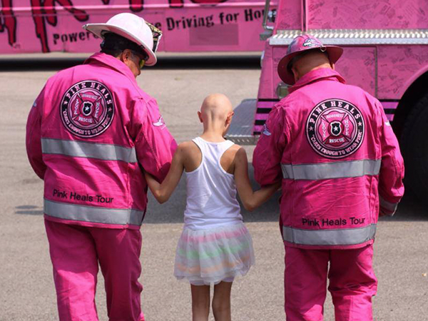 Pink Heals drives care straight to the door of those in need