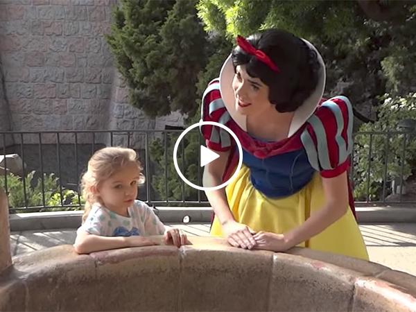 Military reunion at Disneyland | Dad surprises daughter