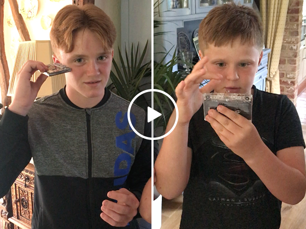 Kids trying to use a cassette tape is frustrating to watch (Video)