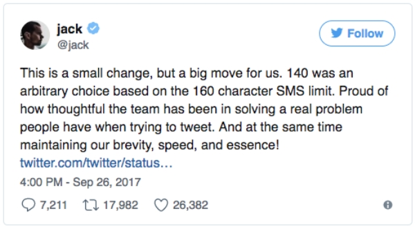 twitter reacts to its new 280 character limit 27 photos 21 Twitter reacts to the new 280 character limit (26 Photos)