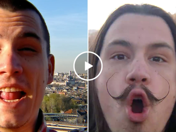 Man lip synchs 'Hello Josephine' in Serbian during time lapse