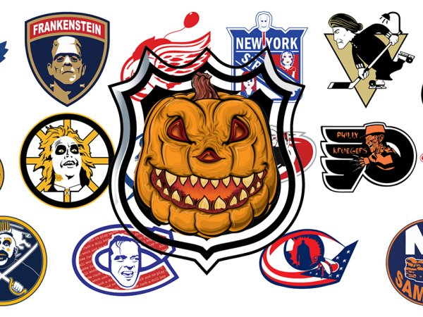 NHL teams gets a Halloween themed logo mashup
