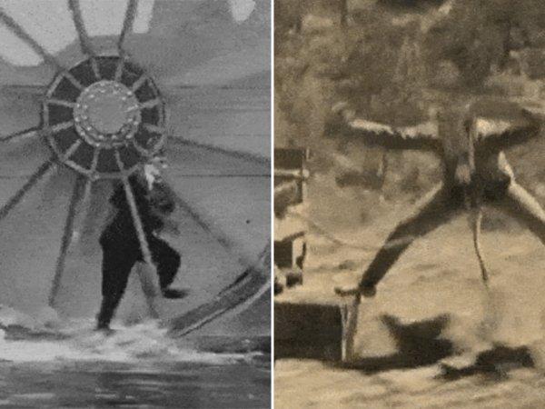 Amazing stunts from the silent move era