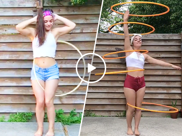 Brookelynn Bley is a dynamite with a hoop (Video)