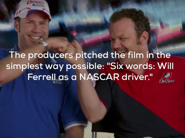Facts about the film Talladega Nights: The Ballad of Ricky Bobby
