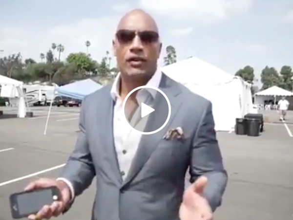 Dwayne Johnson delivers 'The Rock Bottom' on Tyrese's new album (Video)