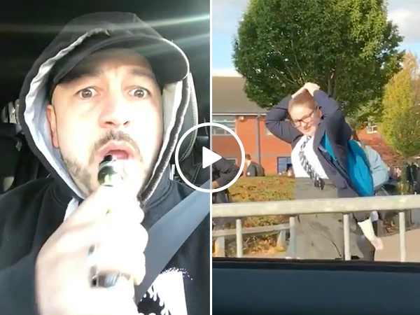 Embarrassing your kids comes with being a father (Video)