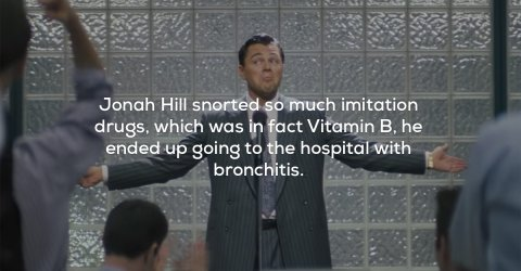 Awesome facts about The Wolf of Wall Street