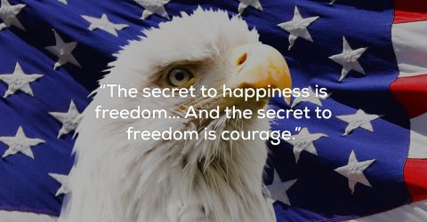 Awesome quotes about freedom and liberty