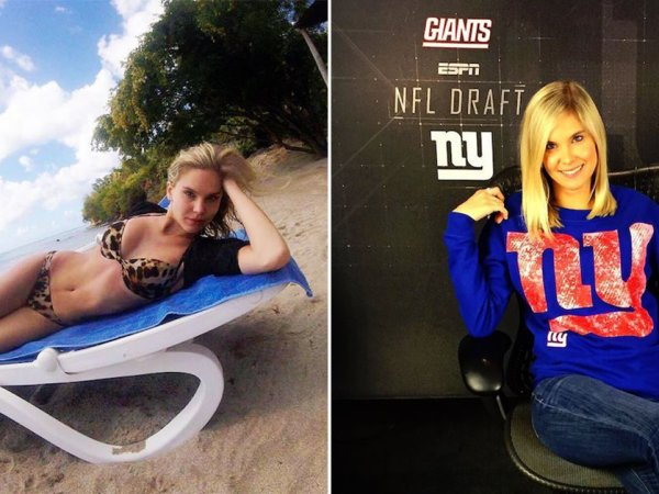 Meet the only good thing about the NY Giants right now, Emma Kaptein