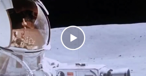 HD stabilized footage of the Moon landing is the coolest thing you'll see today (Video)