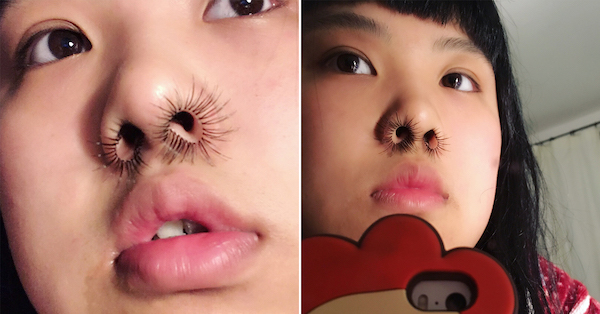 nose hair extensions are the fashion pick of the season 2 Nose hair extensions are the fashion pick of the season
