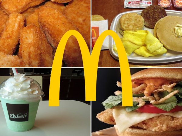 The unhealthiest items you can get at McDonald's (12 Photos)