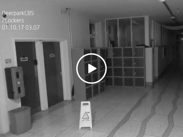 Even the ghosts think that school is overrated (Video)