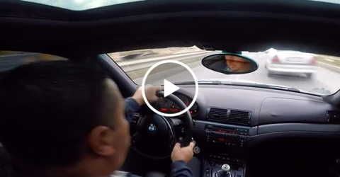 When you drive like that, what do you expect to happen? (Video)