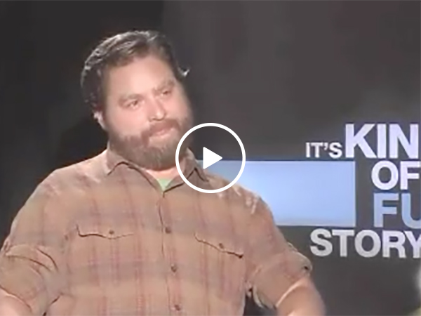 Zach Galifianakis Between Two Ferns Style Interview
