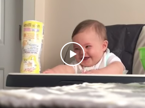 Baby Laughing At His Dad | Toddler Very Happy
