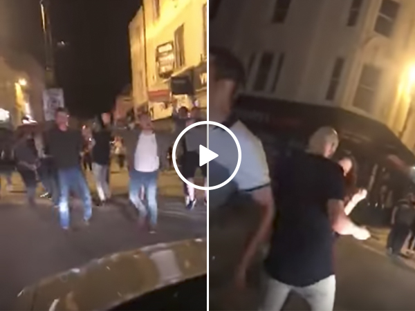 Car Blasts Music From Stereo and Dance Party Breaks Out In Street