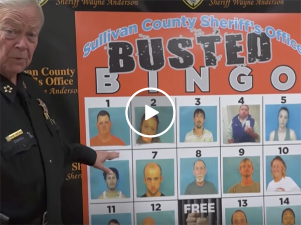 Sheriff's office produces Busted Bingo to catch suspects