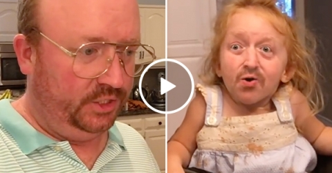 Dad Face Swaps with Daughters And Has Conversation With Himself