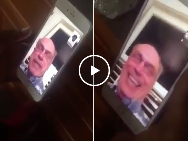 Grandpa Picks Up Call From Wrong Number On iPhone