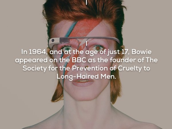 Facts about David Bowie