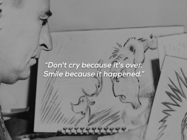 A collection of Dr. Seuss quotes