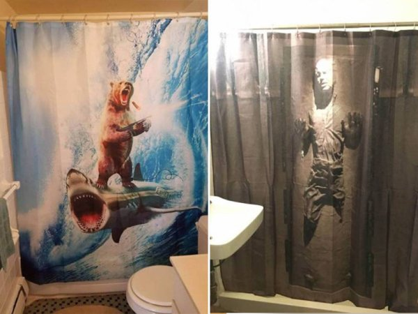 Awesome shower curtain designs