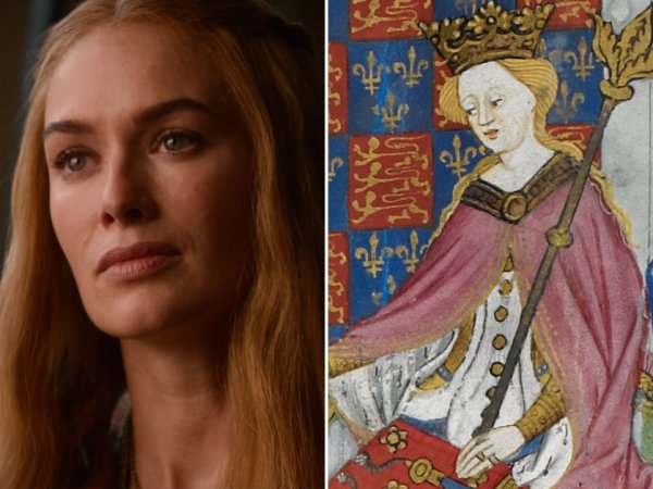 Game of Thrones characters and their historical counterparts