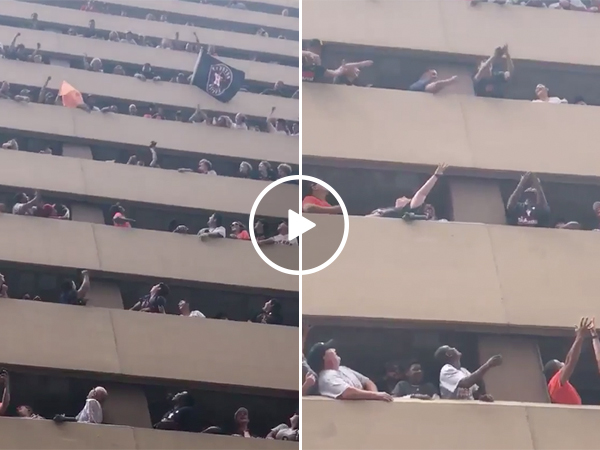An Incredible Show of Teamwork During the Houston Astros Parade