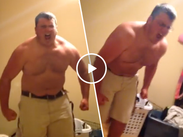 Guy has total meltdown after mayonnaise prank (Video)