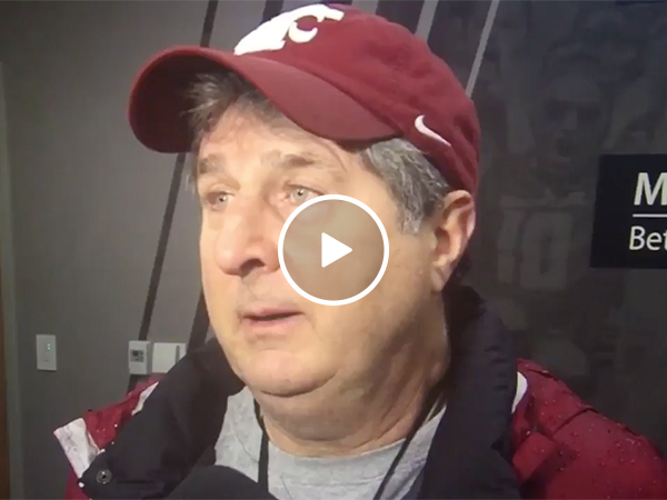 Mike Leach Gives Explanation on Weddings Before Apple Cup
