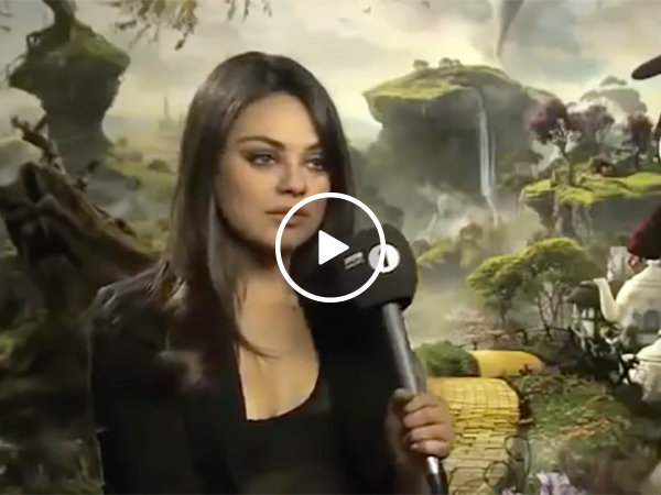 Mila Kunis Wins Over Audience with Interview for Movie