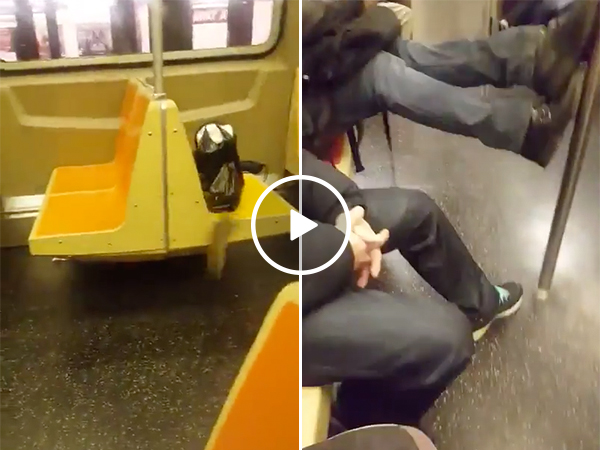 Passengers On Subway Freak Out When They See A Rat