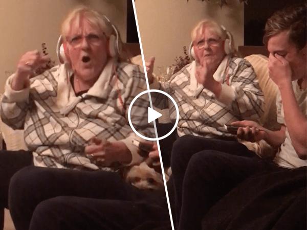 Grandma shocks family by singing Jay-Z's 99 Problems (Video)