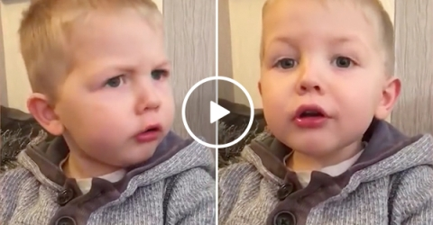 Kid Curses After Learning About Santa and Christmas