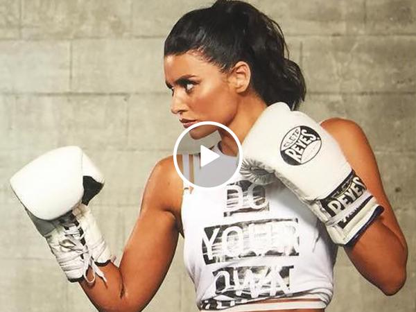 Bianca Van Damme Boxing | Jean-Claude's Daughter Has Fast Hands